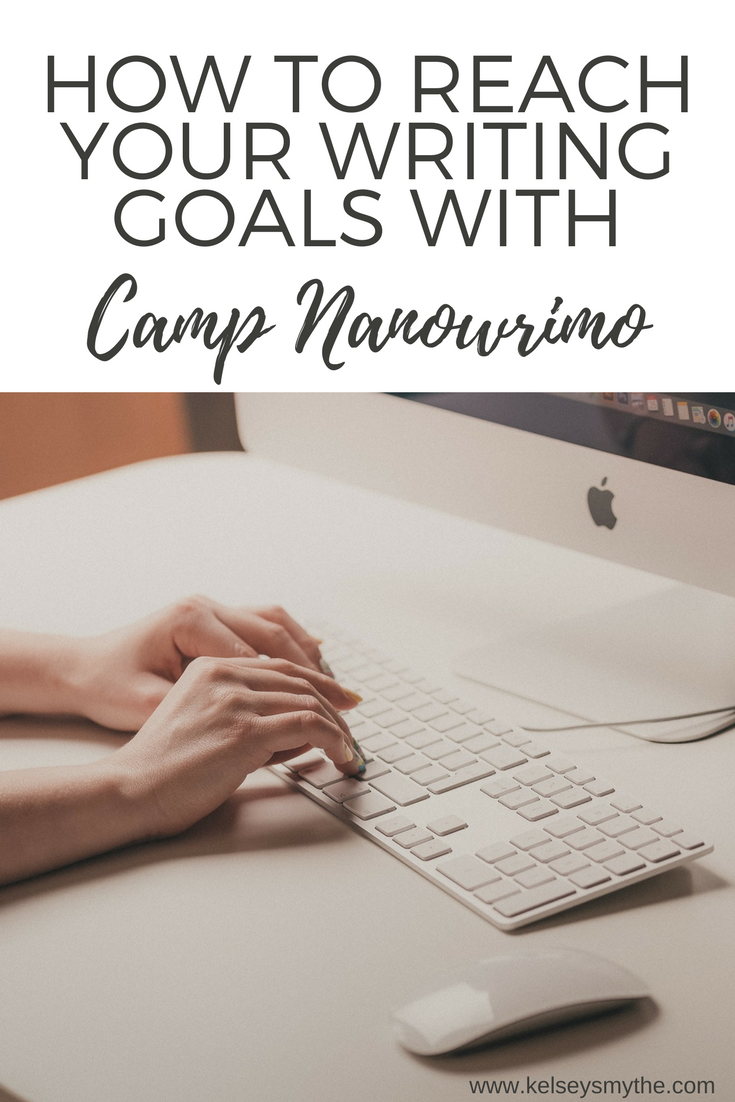 How to Reach Your Writing Goals: Camp Nanowrimo