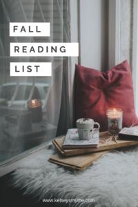 Fall Reading List - Classics, Mysteries, Mindset, and more!   www.kelseysmythe.com