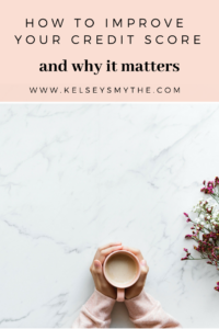 How to Check Your Credit Score and Why it Matters - Everything you need to know about credit reports | www.kelseysmythe.com